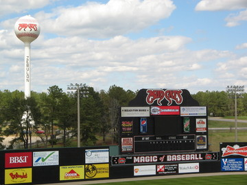Five County Stadium, Zebulon, NC.JPG