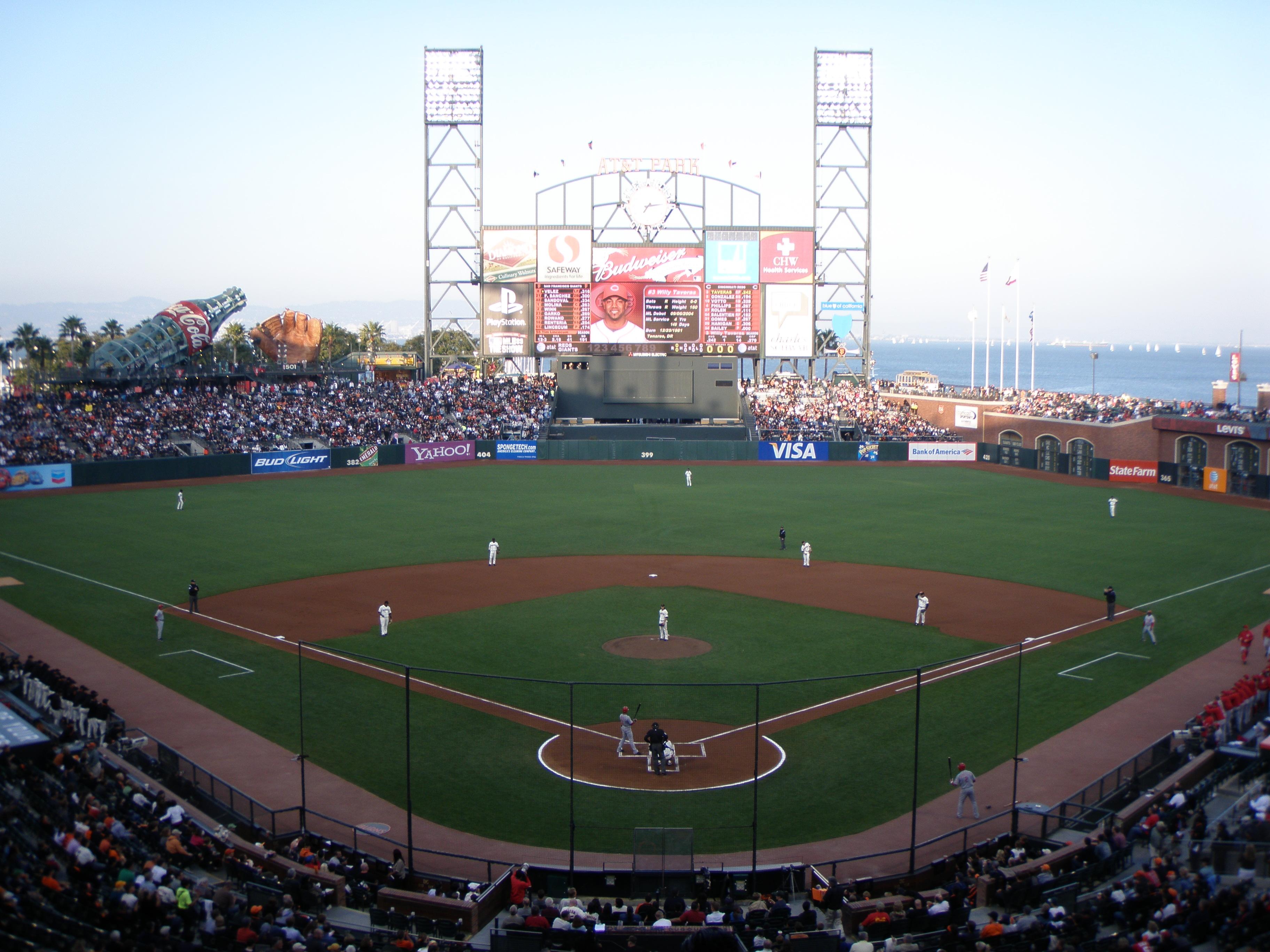 San Francisco Giants Seating Chart At T Park Seat Views Tickpick
